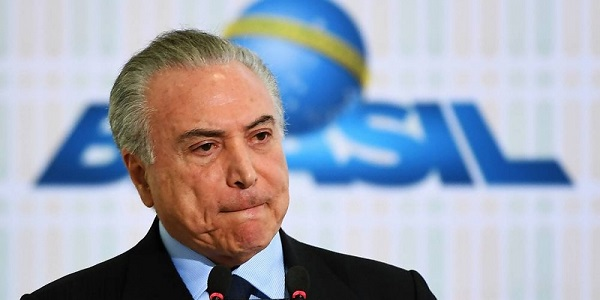 Brasile, il presidente Temer ricoverato in ospedale |