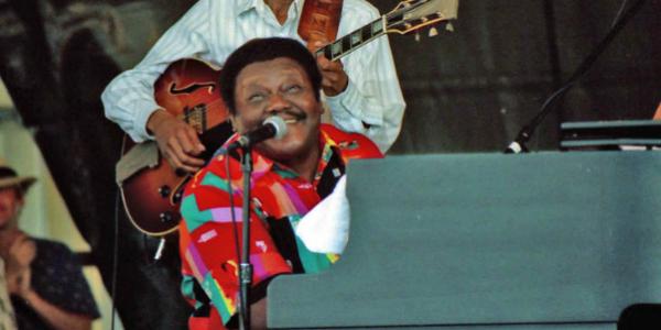 Si è spento il leggendario Fats Domino | Indimenticabile il suo stile blues e boogie woogie