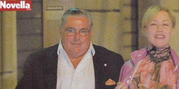 Gossip, Nancy Brilli paparazzata con uno degli uomini più ricchi al mondo