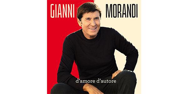 """Gianni Morandi presenta il suo disco """"D'amore d'autore"""""""