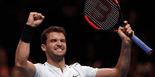 ATP Finals, è Dimitrov il maestro: battuto Goffin in tre set