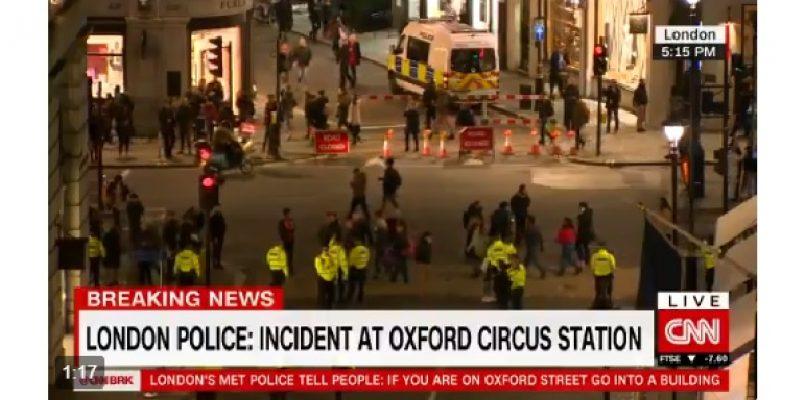 Londra, folla in fuga dalla stazione di Oxford |Un falso allarme crea panico e tensione