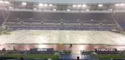 Roma Olimpico Lazio maltempo