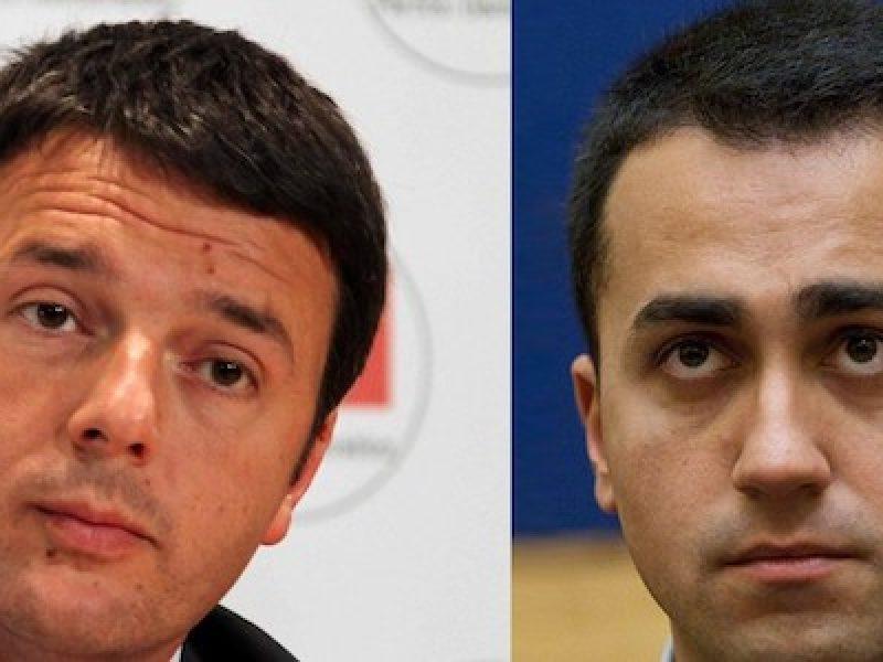 attacco Di Maio Renzi, di maio, Di Maio contro Dessì, Di Maio impresentabili Pd, Di Maio Renzi, Di Maio scroccone, Luca Lotti