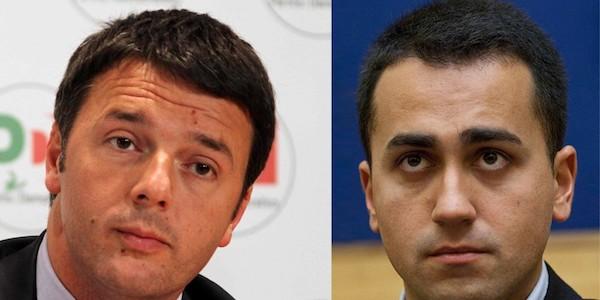 """Nessun accordo M5S-Pd, Di Maio """"Lega egoista"""", Renzi """"Salvini ha paura di me"""""""