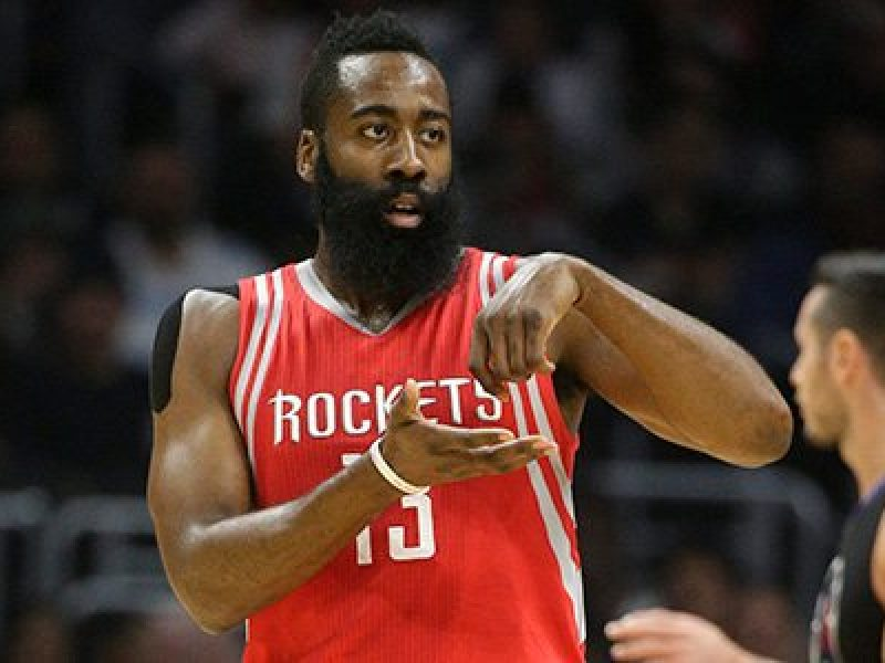 Harden Houston Rockets