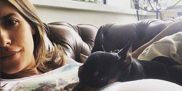 Elisabetta Canalis, dedica social al cane che è morto
