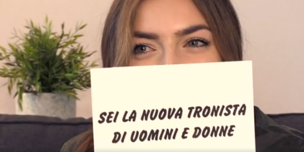 Sara Affi Fella tronista a Uomini e Donne dopo Temptation Island