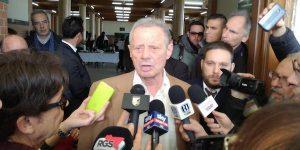 Il Palermo, Zamparini e gli ultimi di Biagio Conte. Il presidente rosanero incontra la stampa FOTO