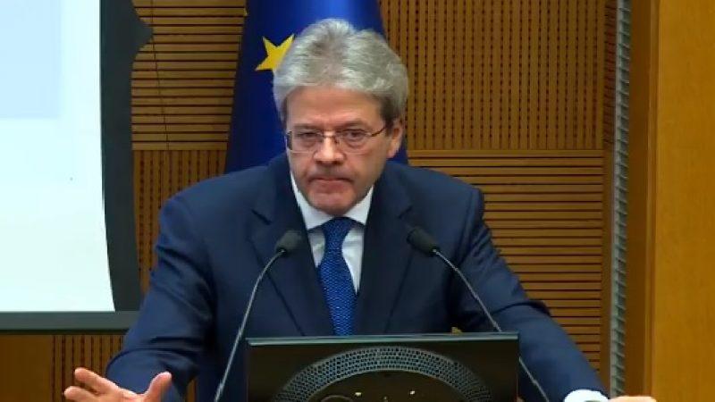 """Per Gentiloni l'Italia """"si è rimessa in moto""""   """"La legislatura è stata tortuosa ma fruttuosa"""""""