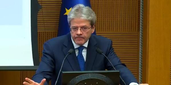 Paolo Gentiloni nuovo commissario Ue agli Affari EconomiciI