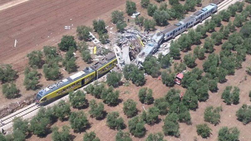 Chiuse indagini sull'incidente ferroviario a Trani |Indagate 18 persone e la società Ferrotramviaria
