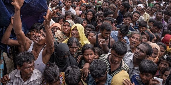 "Myanmar, ""6.700 Rohingya uccisi in un mese"" |È la denuncia di Medici senza Frontiere"