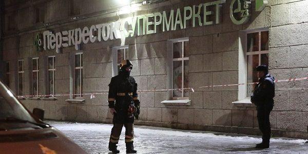 San Pietroburgo, esplosione in un supermercato Dieci feriti, 50 persone evacuate dall'edificio