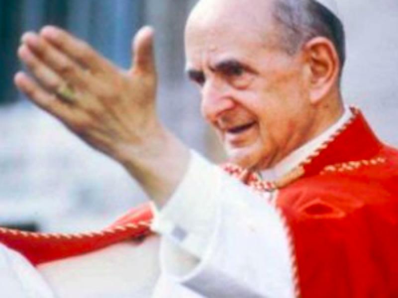 canonizzazione papa Montini, miracolo Papa Paolo VI, papa Montini, papa paolo VI, papa VI