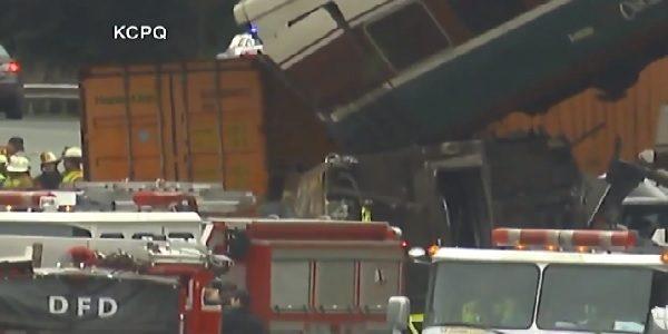 Un treno passeggeri è deragliato vicino a Seattle