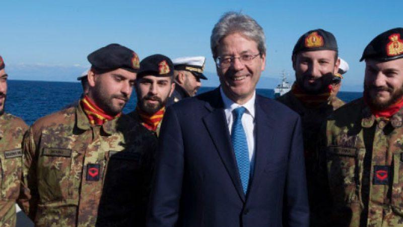 """Gentiloni: """"Presto una missione italiana in Niger"""""""