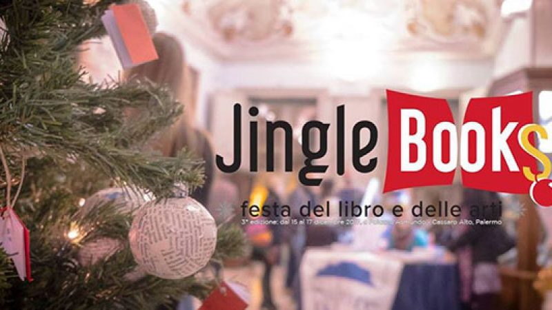 "Torna a Palermo ""Jingle Books"", un week end dedicato ai libri a Palazzo Asmundo"