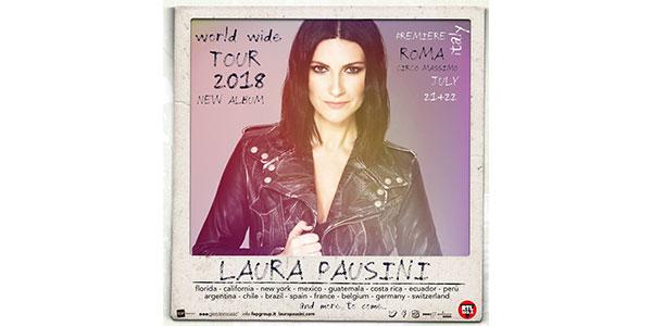 Laura Pausini presenta il suo nuovo album su… un aereo!