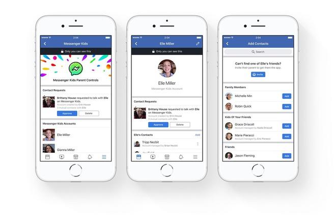 Arriva Messenger Kids: anche gli under 13 potranno usare Facebook
