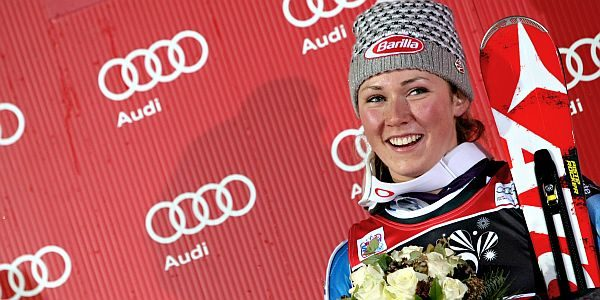 Shiffrin comanda a Courchevel, Gut lontana