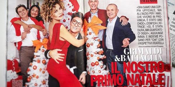 """Primo Natale in famiglia per Eva Grimaldi e Imma Battaglia: """"Non dubitate mai dell'amore vero"""""""