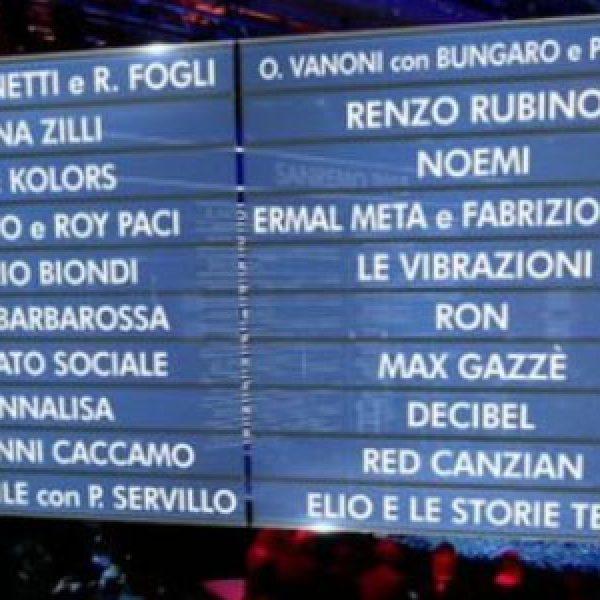 Festival di Sanremo 2018, ecco i 20 Big in gara