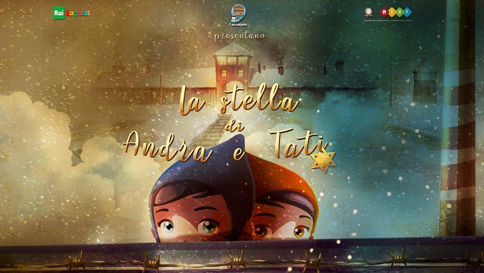 """""""La stella di Andra e Tati"""", un cartone animato racconta la Shoah"""