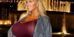Allegra Cole, la donna dai seni giganti: Ho una decima, mio marito è felice