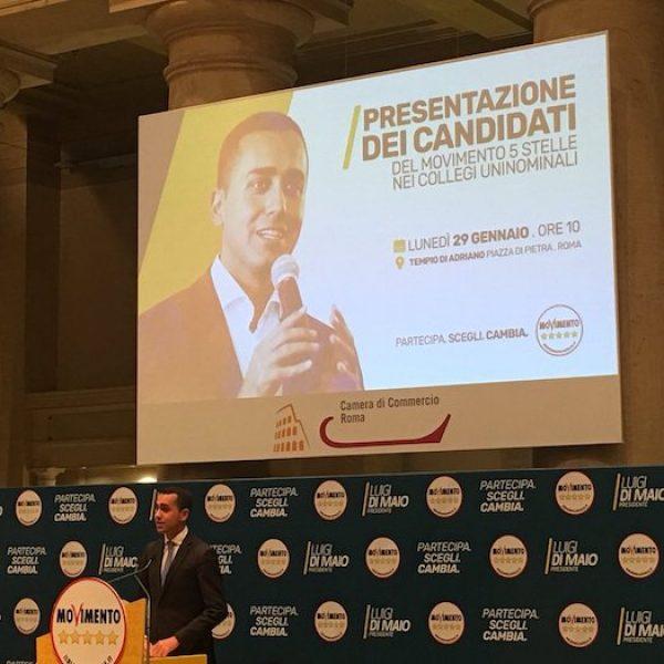 M5S, Di Maio presenta i candidati: