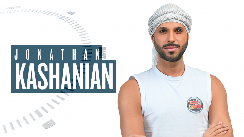Isola dei Famosi 2018, chi è Jonathan Kashanian