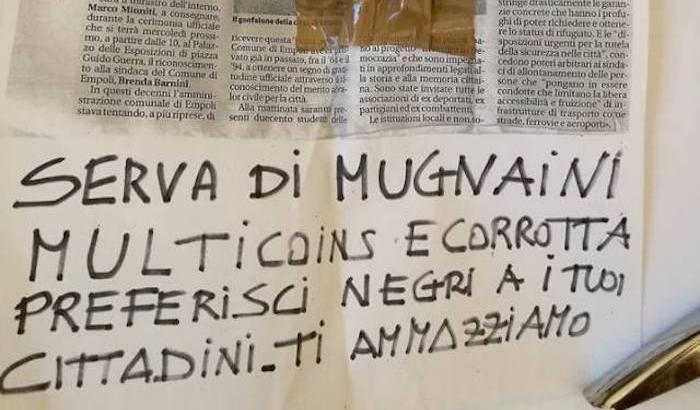 """Minacce al sindaco di Empoli: """"Ti ammazziamo"""""""