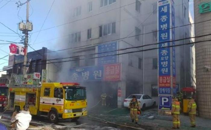 Corea del Sud, rogo devasta un ospedale: 41 morti