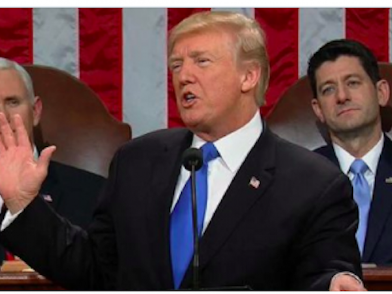 americani dreamres, Trump agli americani, Trump discorso sull'Unione, Trump Guantanamo, trump immigrazione