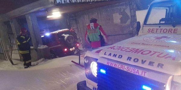 Sestriere, settantenne muore nell'ambulanza bloccata da un albero caduto