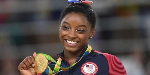 Simone Biles, star della ginnastica Usa: