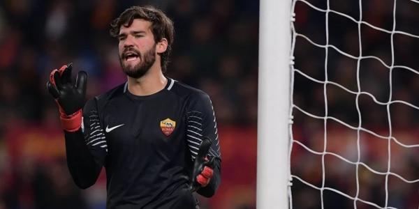 """Roma, Alisson allontana le voci di mercato: """"Sto bene in giallorosso"""""""