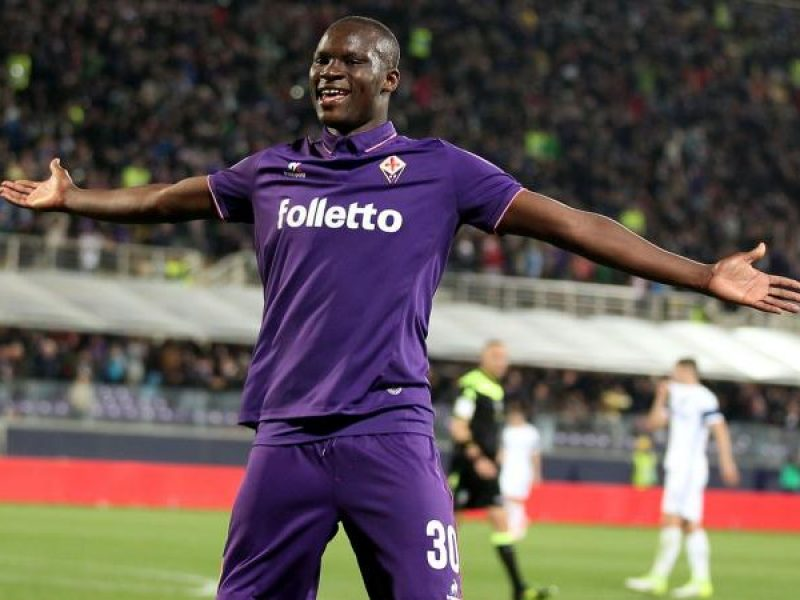 Babacar Fiorentina Sassuolo