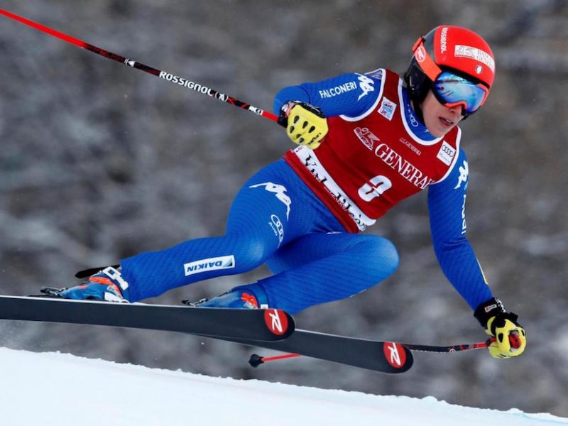 Slalom gigante, vince la Resenbung, terza la Brignone