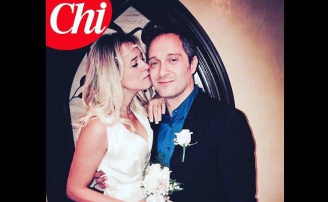 Matrimonio segreto per Francesca Barra e Claudio Santamaria