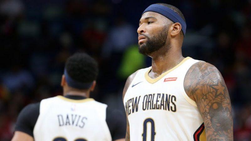 NBA, rottura del tendine d'Achille per DeMarcus Cousins
