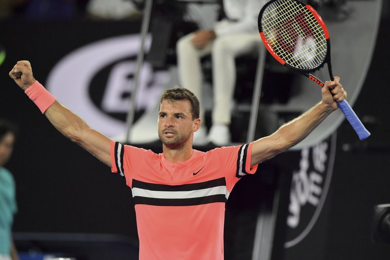 Australian Open, Dimitrov elimina Kyrgios. Ai quarti Nadal-Cilic