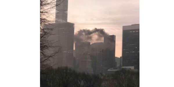 New York. Incendio all'interno della Trump Tower: ci sono feriti
