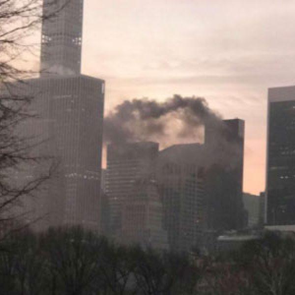 Rogo alla Trump Tower di New York