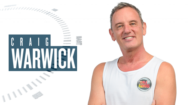 Isola dei Famosi 2018, chi è Craig Warwick