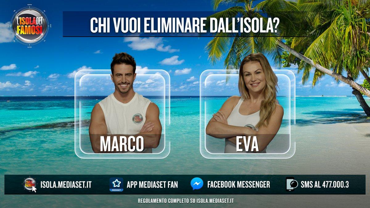 Isola dei Famosi 2018, Marco Ferri ed Eva Henger i primi due nominati