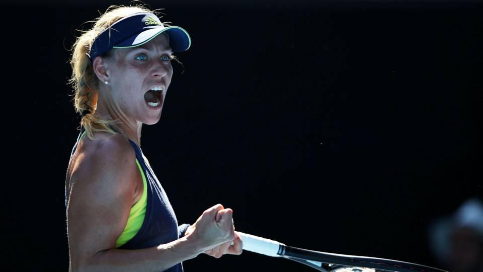 Australian Open, Halep e Kerber in semifinale. Tutto facile per Chung