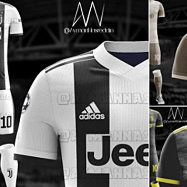 La Juventus cambia maglia, ecco il look 2018-2019