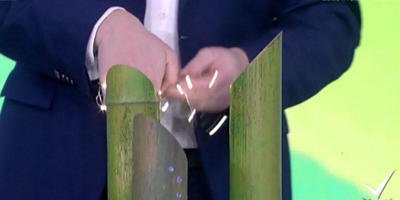 Detto Fatto, come costruire una lampada con una canna di bambù