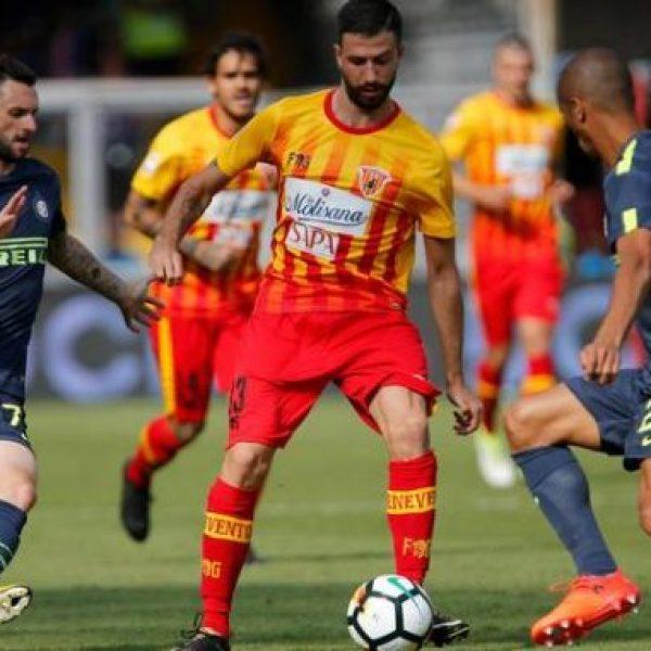 Inter - Benevento termina 2-0